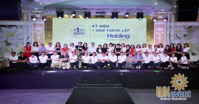 tổ chức lễ kỷ niệm thành lập DNA Holding 001
