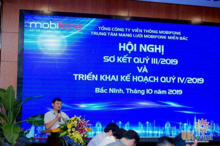 tổ chức hội nghị sơ kết quý 3 mobifone 002