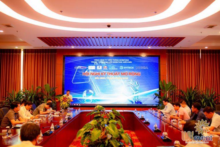 tổ chức hội nghị sơ kết quý 3 mobifone 022