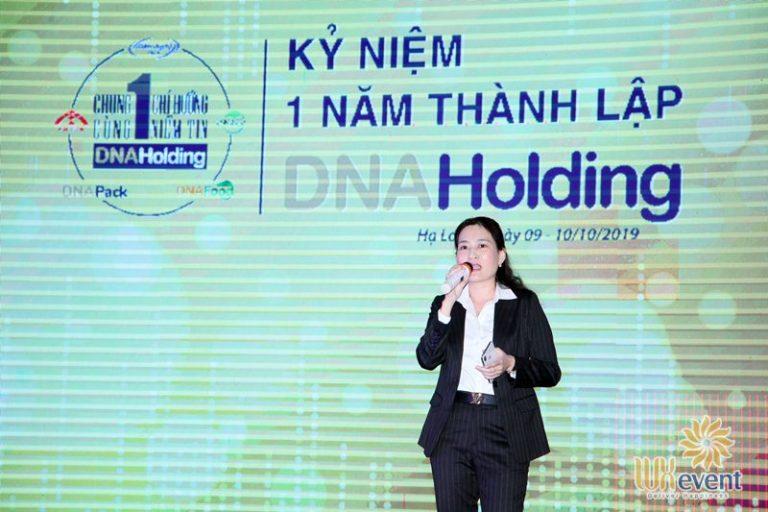 tổ chức lễ kỷ niệm thành lập DNA Holding 029