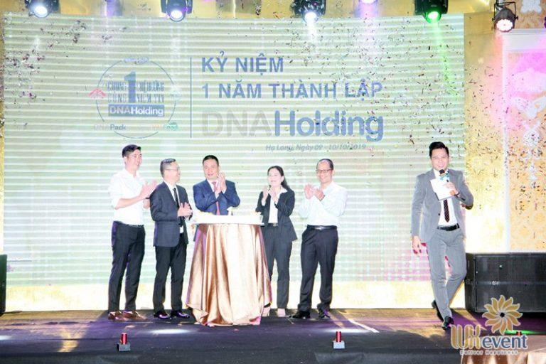 tổ chức lễ kỷ niệm thành lập DNA Holding 008