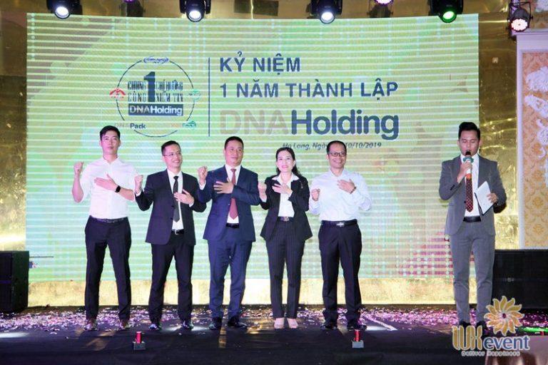 tổ chức lễ kỷ niệm thành lập DNA Holding 032