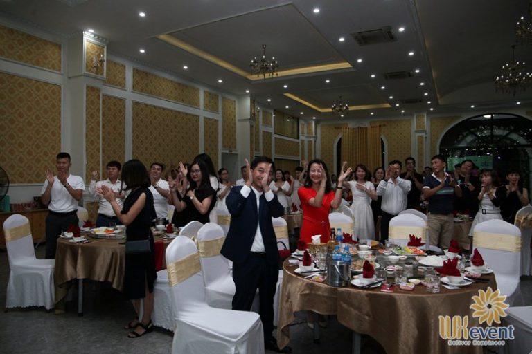 tổ chức lễ kỷ niệm thành lập DNA Holding 033