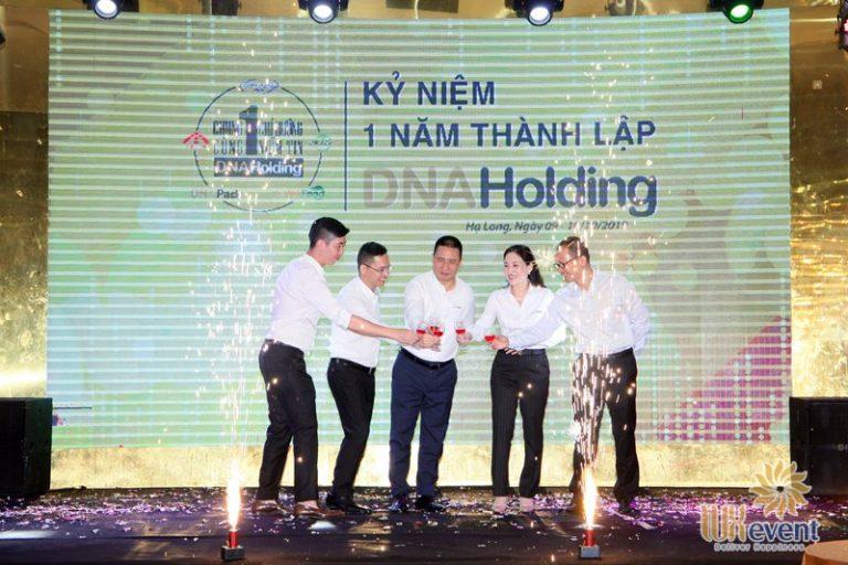 tổ chức lễ kỷ niệm thành lập DNA Holding 035