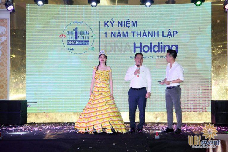 tổ chức lễ kỷ niệm thành lập DNA Holding 036