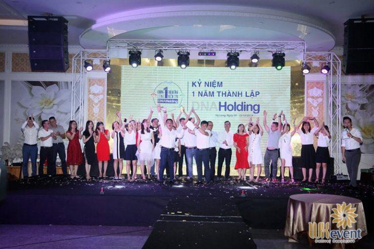 tổ chức lễ kỷ niệm thành lập DNA Holding 038