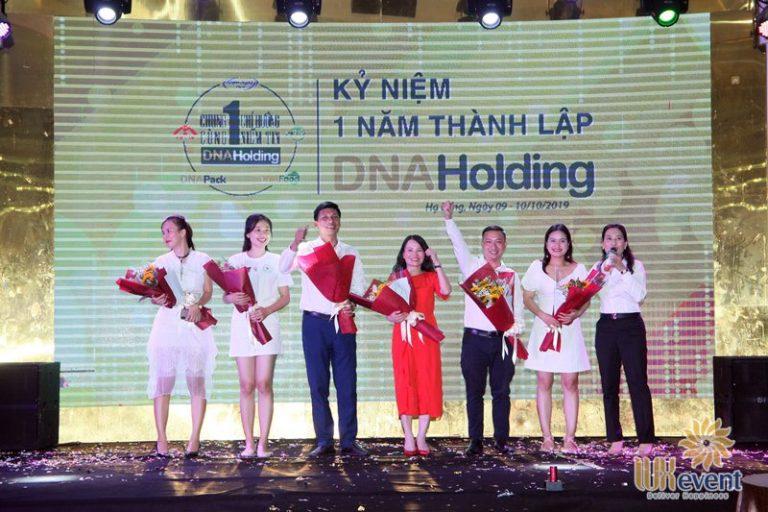 tổ chức lễ kỷ niệm thành lập DNA Holding 041