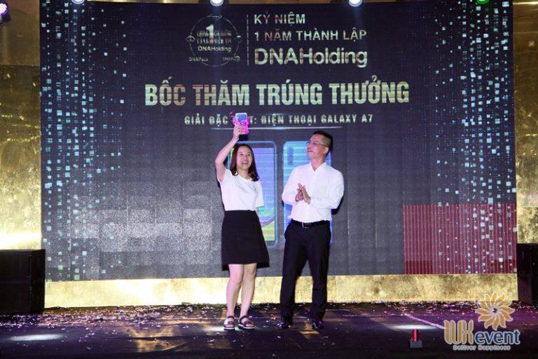 tổ chức lễ kỷ niệm thành lập DNA Holding 045