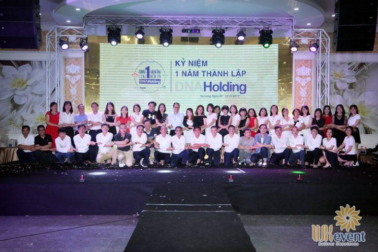 tổ chức lễ kỷ niệm thành lập DNA Holding 046