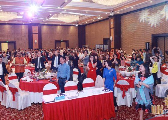 tổ chức tiệc tất niên cuối năm công ty ariston việt nam 012