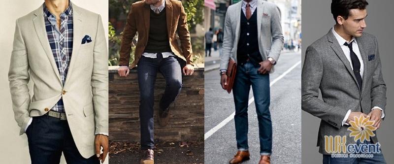 Nam giới mặc gì đi tiệc cuối năm