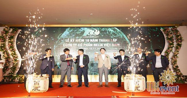 tổ chức lễ kỷ niệm 10 năm thành lập Relia Việt Nam 001
