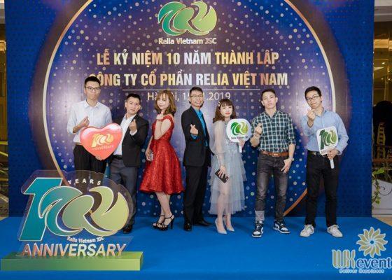 tổ chức lễ kỷ niệm 10 năm thành lập Relia Việt Nam 010