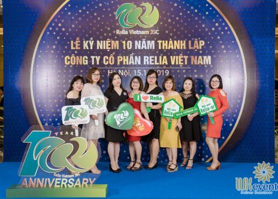 tổ chức lễ kỷ niệm 10 năm thành lập Relia Việt Nam 003