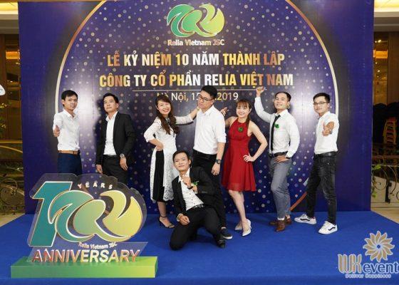tổ chức lễ kỷ niệm 10 năm thành lập Relia Việt Nam 011