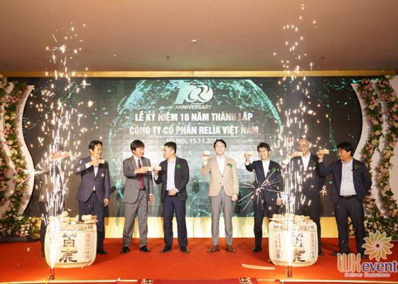 tổ chức lễ kỷ niệm 10 năm thành lập Relia Việt Nam 006