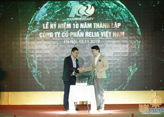 tổ chức lễ kỷ niệm 10 năm thành lập Relia Việt Nam 019