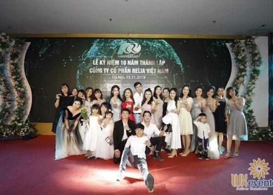 tổ chức lễ kỷ niệm 10 năm thành lập Relia Việt Nam 027