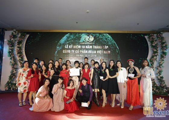 tổ chức lễ kỷ niệm 10 năm thành lập Relia Việt Nam 028