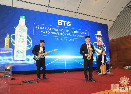 Tổ chức lễ ra mắt sản phẩm mới dầu ăn otran 012