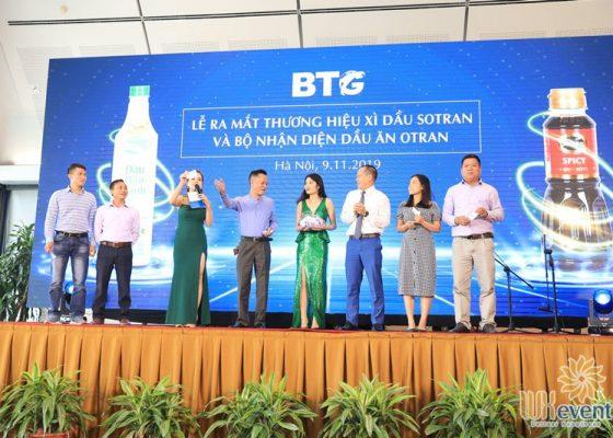 Tổ chức lễ ra mắt sản phẩm mới dầu ăn otran 018