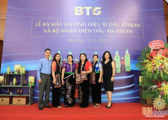 Tổ chức lễ ra mắt sản phẩm mới dầu ăn otran 021