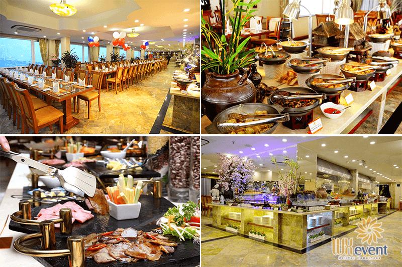Các nhà hàng buffet ngon ở Hà Nội - Buffet Sen Việt