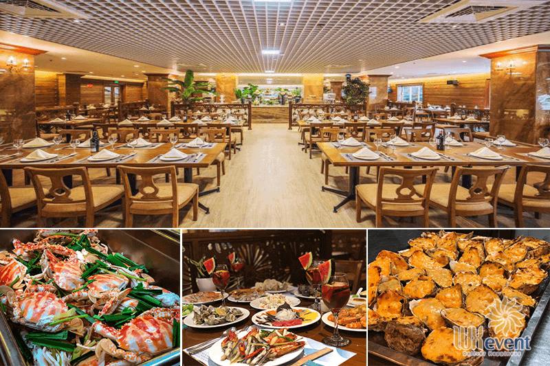 Nhà hàng buffet hà nội có phòng riêng - buffet sen xanh