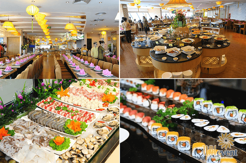 nhà hàng buffet hà nội Ngọc Mai Vàng