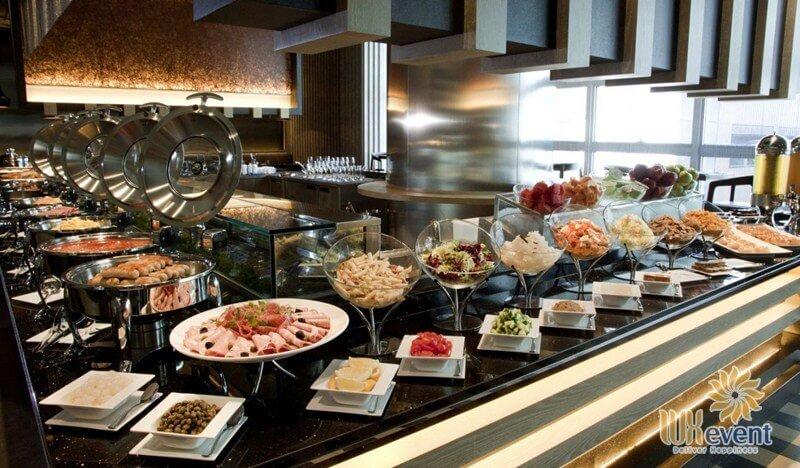 thực đơn tiệc buffet cuối năm