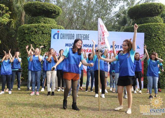tổ chức tiệc cuối năm Chiyoda Integre Vietnam 009
