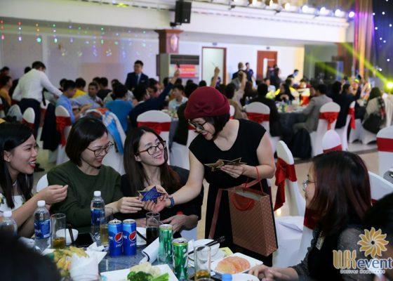 tổ chức tiệc cuối năm fushan technology việt nam 009