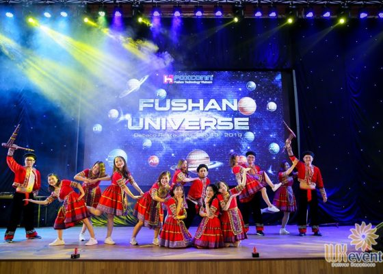 tổ chức tiệc cuối năm fushan technology việt nam 014