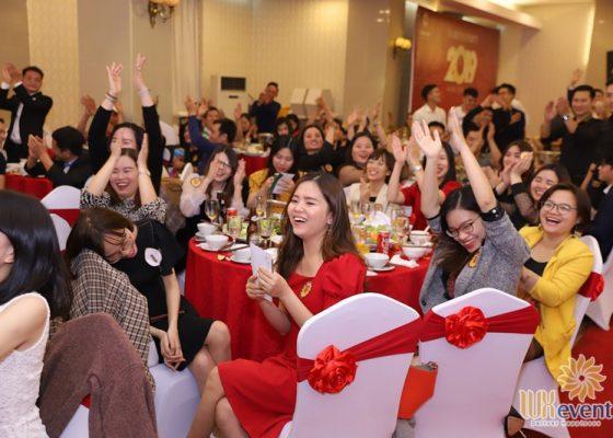 Tổ chức tiệc tất niên cuối năm Tân Long Group 023