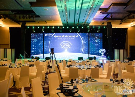 Tổ chức hội nghị đối tác - VNPT-Media 7