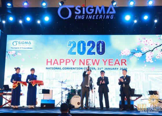 tổ chức tiệc tất niên cuối năm sigma engineering 012
