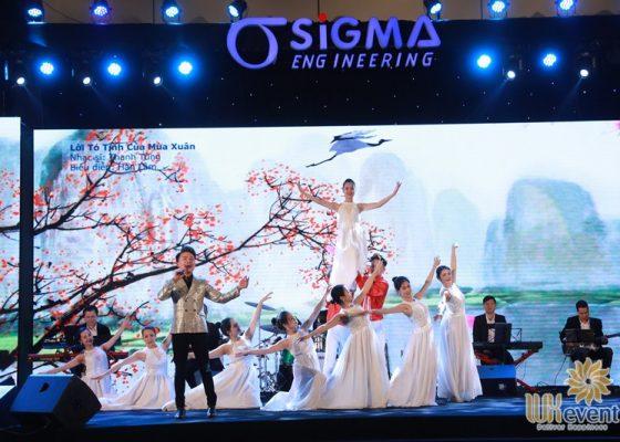 tổ chức tiệc tất niên cuối năm sigma engineering 030