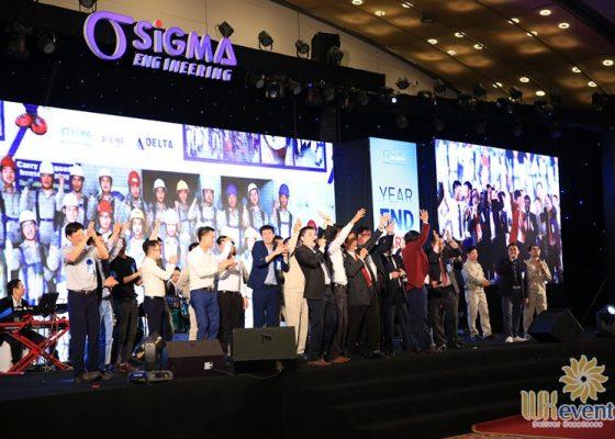 tổ chức tiệc tất niên cuối năm sigma engineering 038