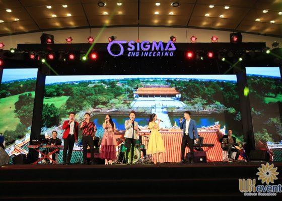 tổ chức tiệc tất niên cuối năm sigma engineering 040