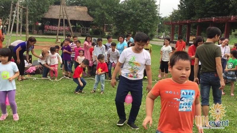 những trò chơi team building trẻ em