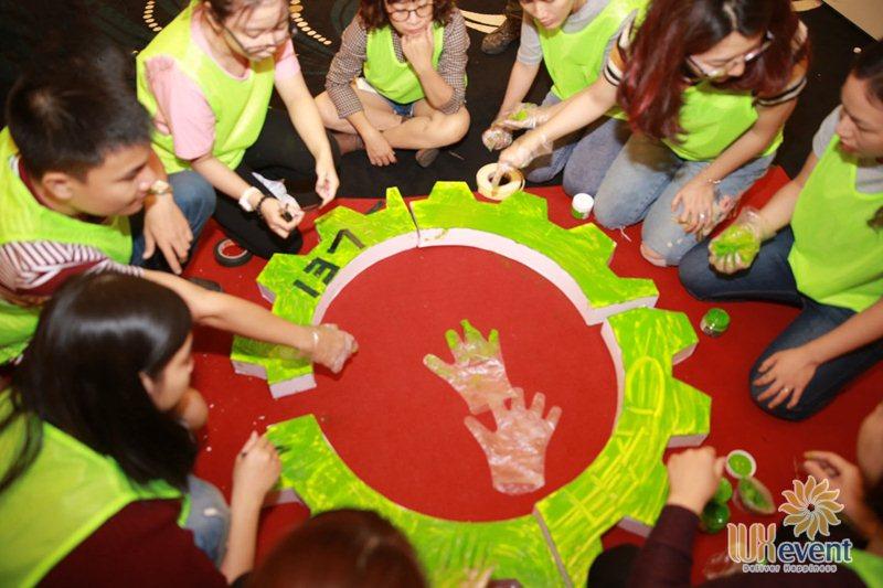Trò chơi team building trí tuệ Ghép Chữ