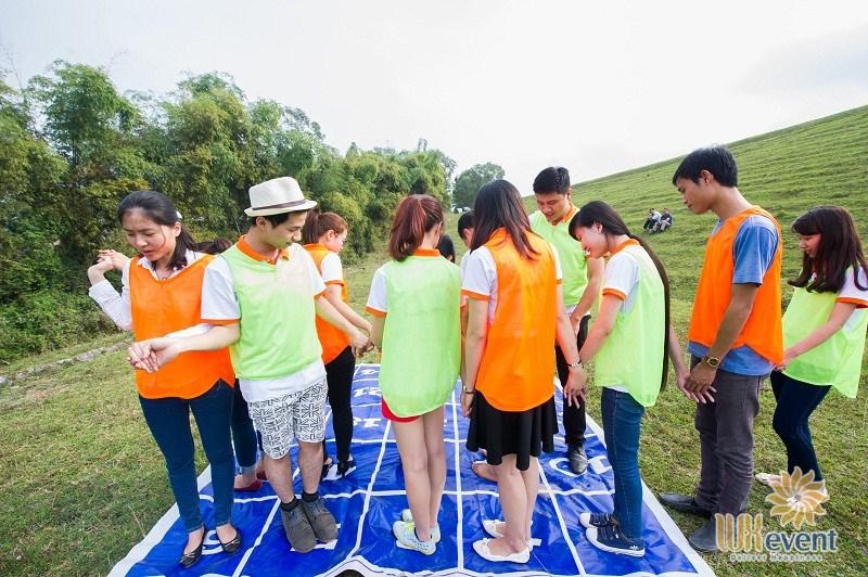 Trò chơi team building trí tuệ Mê Cung Số