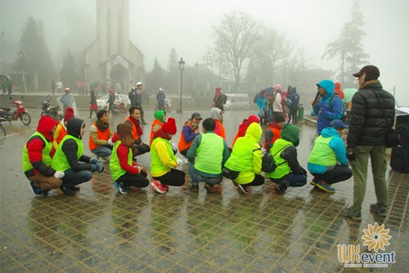cách ứng phó thời tiết xấu khi tổ chức du lịch team building