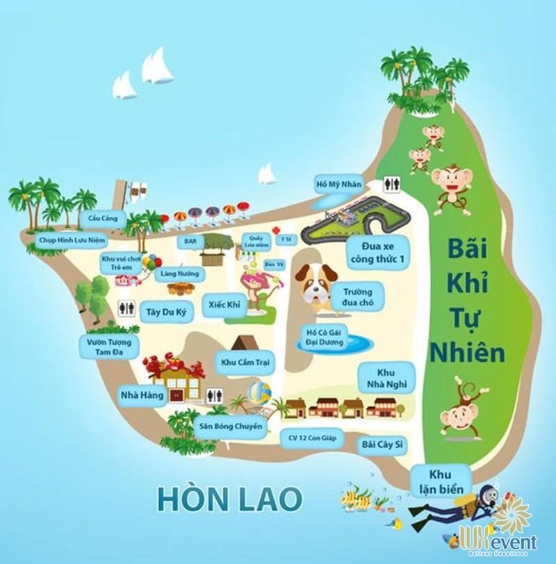 Địa điểm tổ chức team building Nha Trang ở Hòn Lao