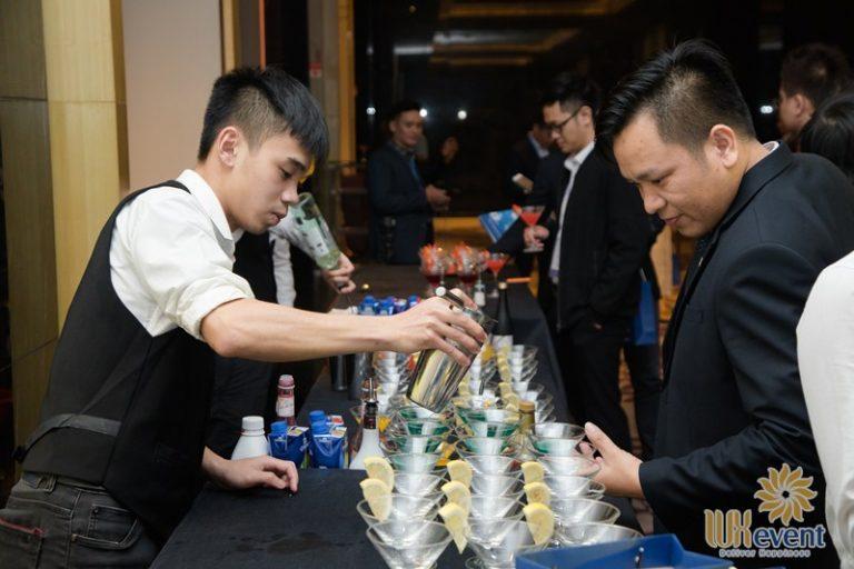 dịch vụ tiệc cocktail cho hội thảo