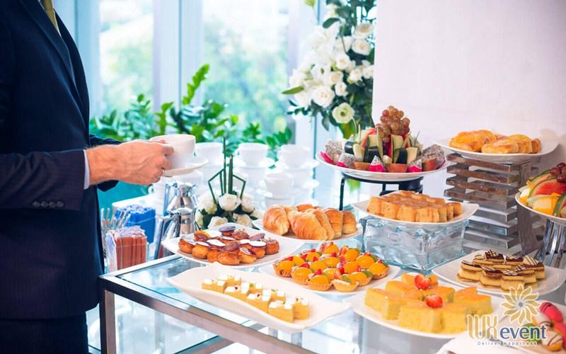 dịch vụ tiệc teabreak tổ chức hội nghị hội thảo