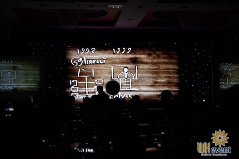 tổ chức lễ kỷ niệm 25 năm thành lập công ty