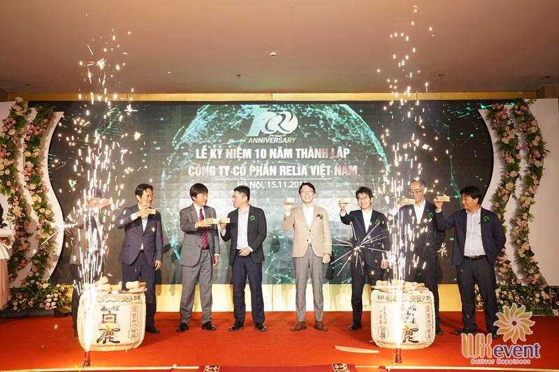công ty tổ chức lễ kỷ niệm thành lập công ty uy tín, chuyên nghiệp tại Hà Nội