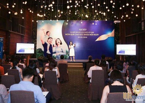 dịch vụ tổ chức họp báo công bố ra mắt sản phẩm mới
