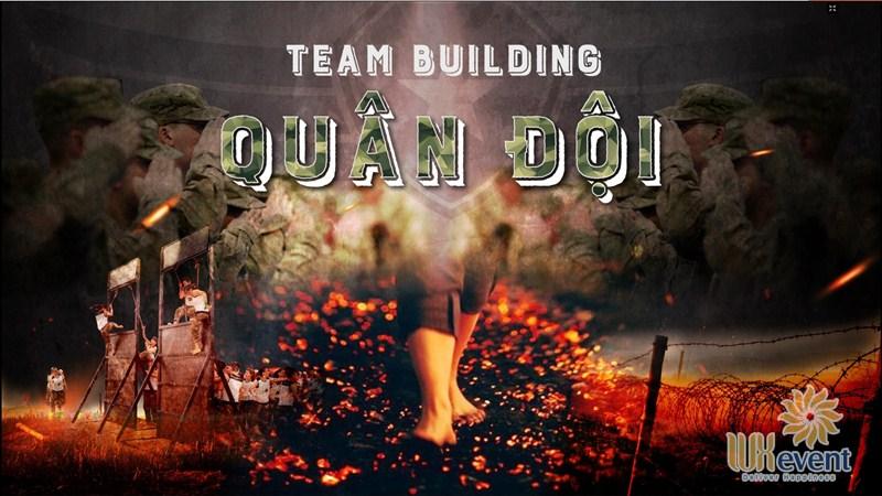 ý tưởng tổ chức team building theo concept Quân Đội